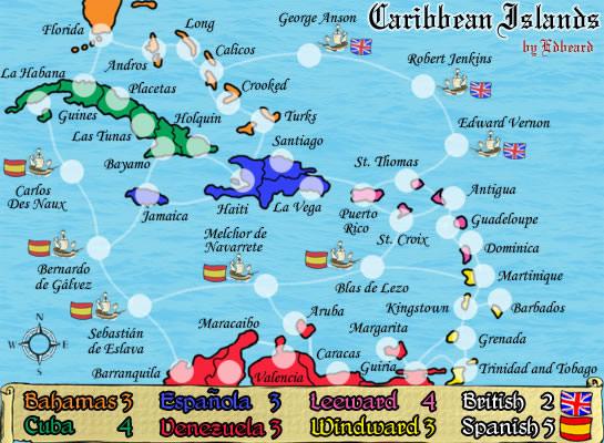 Maps Of Caribbean Islands Printable